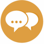 contact-vector-icons-set-orange-chat